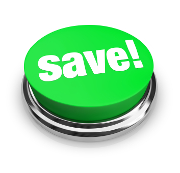 Save - Green Button
